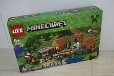 LEGO 21128  Minecraft The Village New & Sealed Retired hard to find Set