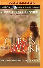 Curses and Smoke: A Novel of Pompeii by Vicky Alvear Shecter (CD-Audio, 2015)