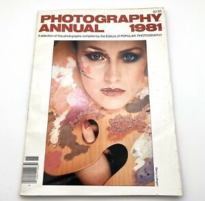 Photography Annual Magazine 1981 Vintage