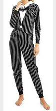 WOMENS PLUS ONE PIECE JACK skellington 3xl 3x NIGHTMARE BEFORE CHRISTMAS PAJAMAS