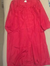 Jostens Red Graduation Gown and Two Caps Size 5'7�-5'9�