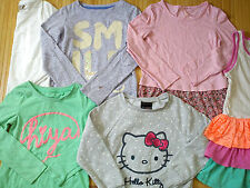 Nice TRENDY BRANDS 9x bundle girls clothes 5/6 yrs nr2 (1.7)