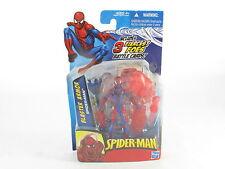 """Marvel Universo Spider-man Blaster armadura, 4"""" figura en perfecto estado en cartón sellado Nuevo Sin Abrir"""