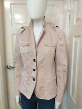 Marccain Pale Pink Safari Style Jacket  Size N4. UK 12/14.