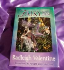 Fairy Tarot Cards Radleigh Valentine 78 Card Deck & Guidebook Authentic