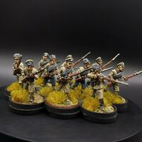 Pro painted 28mm Russian Revolution/WW1/ WW2 Soviet Infantry ×10 Bolt Action