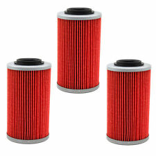 3 Pack Oil Filter 564 for Aprilia RSV Miller Can-Am Spyder RT-S RS-S Buell 1125R