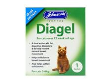Johnson's Veterinary Diagel Sachets Dual Action Digestive Aid For Cats
