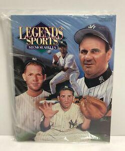 Legends Sports Memorabilia Magazine New York Yankees Legends Cover ~ Sealed !