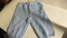 Baby Knit Pants from Nordstrom Baby. Baby Blue. Cotton. New.