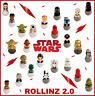 ROLLINZ 2.0 Star Wars Esselunga Completa la Collezione wizzis fluo foodies oro🚀