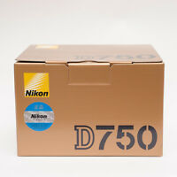 (Body Only) Nikon D750 24.3MP Digital DSLR Camera Without lens Genuine No wifi _