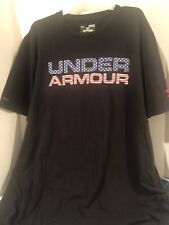 under armour heat gear loose medium T-shirt Usa Colors In Under Armour