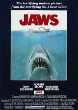 Jaws Movie Film Photo Print Poster Picture Wall Art