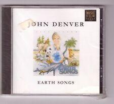 JOHN DENVER - EARTH SONGS  CD NUOVO SIGILLATO