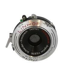 Schneider 90mm f/6.8 Angulon Linhof Tech Synchro-Compur B (35MT) 4x5 Lens - UG