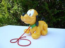 ☻ Jouet Le Chien Pluto Disney A Tirer
