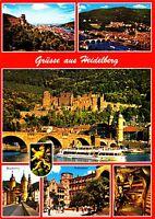 Grüsse aus Heidelberg  , Ansichtskarte, gelaufen