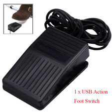 Durable Fashionable Portable USB Foot Control Keyboard Action Switch Pedal Top
