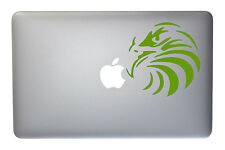 American Bald Eagle 2 - 5 Inch Lime Vinyl Decal for Macbook