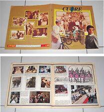 Album CUORE Panini 1984 Fiction Rai Johnny Dorelli COMPLETO figurine De Amicis