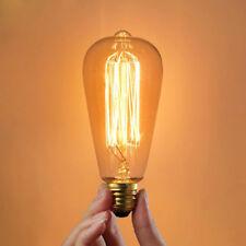 E27 25W Incandescent Bulb 220V ST64 Retro Edison Light