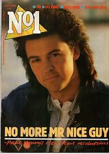 Paul Young on Magazine Cover 4 January 1986    Sade    Nick Rhodes   Aled Jones