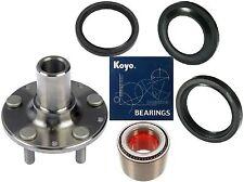 Rear Wheel Hub & KOYO (OEM) Bearing&seals Kit For SUBARU Impreza Forester Legacy