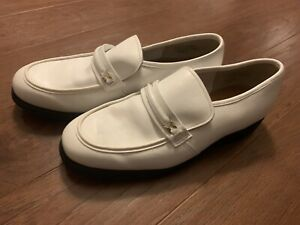 Vintage White Hush Puppies Shoes Size 12 M