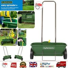 EverGreen Easy Spreader Plus Quick Drop Seeder Multiple Setting Clean Maintain