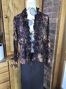 VINTAGE  80'S ~ CHELSEA DESIGN Co. BLOUSE/Jacket * Size 10 - Nina Proudman Boho