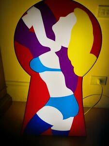 Bellissima scatola luminosa di Marco Lodola!!!