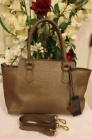 nwt Cuore & Pelle Musette Carryall Leather Tote $ 395.00 (160