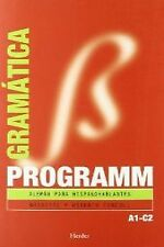Gramatica aleman programm. NUEVO. Nacional URGENTE/Internac. económico. METODO I