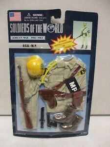1997 Soldiers of the World Korean War Outfit USA Military Police