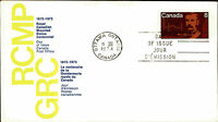 Kanada Day of Issue Cover Brief Briefmarke 1973 Gendarmerie Royale du Canada FDC