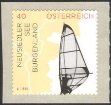 Austria 2015 Lake Neusiedl/Tourism/Windsurfing/Sports/Sailing/Sail 1v (at1105)