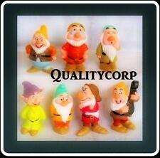 NUOVO Disney 7 Dwarfs SET DA SEVEN BIANCANEVE qualità GIOCATTOLI HOT Decorazioni per Torta Toys