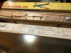 NIB MK Kato BLUE ANGEL 20 rare F3A wood plane kit *** Free Shipping***