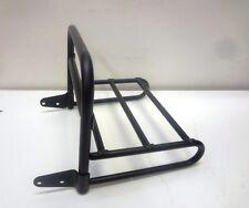 Portapacchi fisso rack acciaio steel nero black VESPA PX 125-150-200 -cod2012N