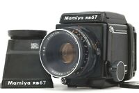 【EXC++++】 Mamiya RB67 Pro w/ Sekor 127mm f/3.8 + chimney finder + 120 Back JAPAN