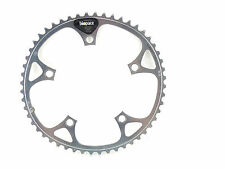 """Shimano Biopace Chainring 52T Road 130Bcd 3/32"""" Vintage Road Bike silver NOS"""