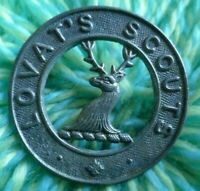 Scottish Lovat Scouts Imperial Yeomanry Officer's Cap Badge 1914 Era WM ANTIQUE
