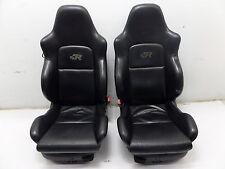 VW Golf R32 Front Konig Leather Seat Black MK4 GTI Jetta GLI Beetle OEM