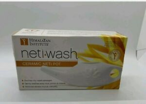 NIB - Himilayan Institute Neti-Wash Ceramic Neti Pot, 1 Pot
