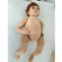 Realistic Silicone Boy Doll Belly Plate Unpainted for 20-22inch Reborn Doll