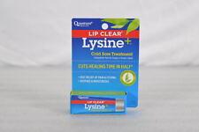 Lip Clear Lysine + Cold Sore Treatment Ointment .25oz/7g