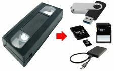 Transfer digitize PAL SECAM NTCSC VCR VCH Video Tape to MP4 file your memories