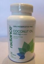 Radiance Coconut Oil (120 Soft Gels) Natural Energy Source 1000 MG