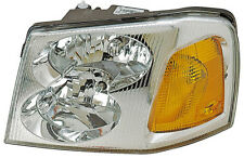 2002-2009 New driver side GMC Envoy Front Headlight Assembly Replacement